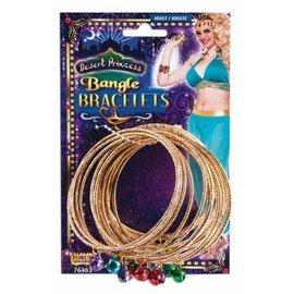 Forum Novelties Desert Princess Bangle Bracelets (C15)
