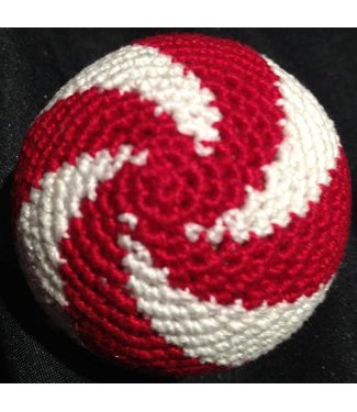 Ronjo Load Ball, 2 inch - Swirl, Wood Red/White (M8)