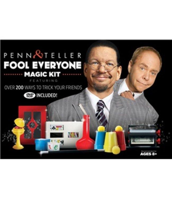 Penn And Teller Fool Everyone Magic Kit by Royal Magic (M8)