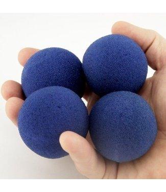 2 inch Super Soft Sponge Balls - Blue by Magic By Gosh(M13)