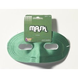 Forum Novelties Domino Half Mask - Green (348)