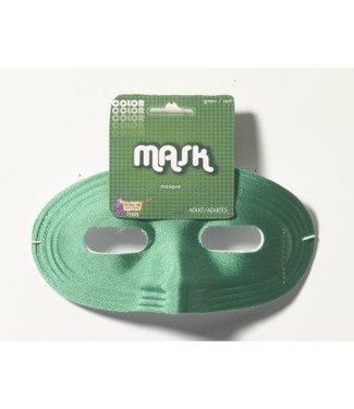 Forum Novelties Domino Half Mask - Green (348)