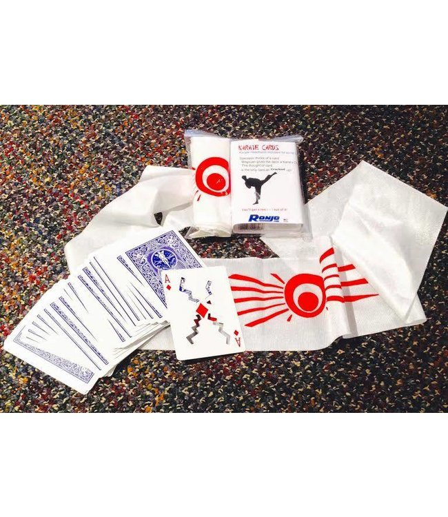 Ronjo Karate Cards, Bicycle by Ronjo (C4/1023)
