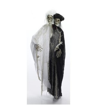 Forum Novelties Lite Up Bride And Groom Skeleton Hanging Prop (523)