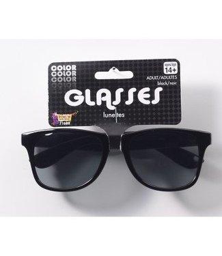 Forum Novelties Black Frame Sunglasses