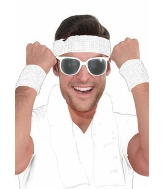 Forum Novelties White Frame Sunglasses