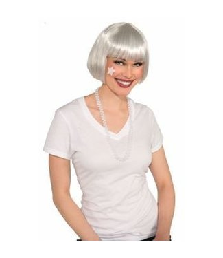 Forum Novelties White Bob Wig