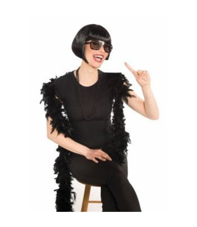 Forum Novelties Black Bob Wig