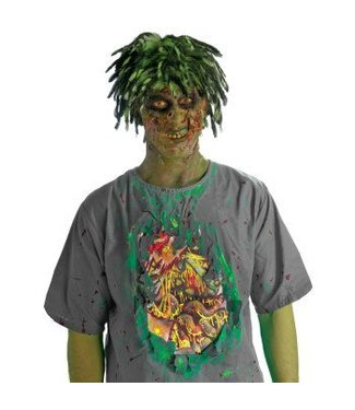 Forum Novelties Biohazard Zombie Shirt With Guts STD 42