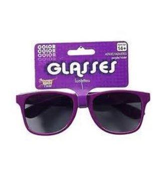 Forum Novelties Sunglasses Purple Frame