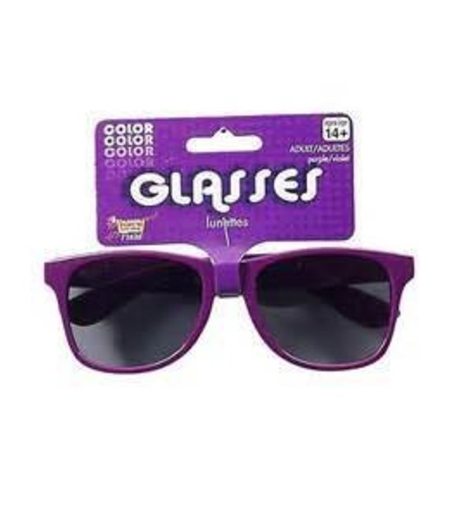 Forum Novelties Purple Frame Sunglasses