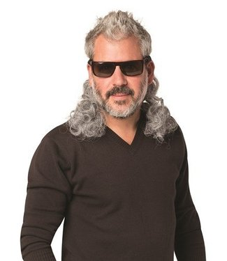 Rasta Imposta Hair Dudes-Curly Gray