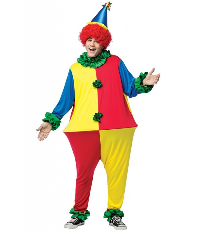Rasta Imposta Primary Colors Clown Hoopster One Size