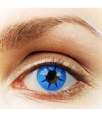 Fine And Clear Blue Wheel Contact Lenses