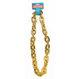 Forum Novelties Jumbo Chain Necklace, Gold