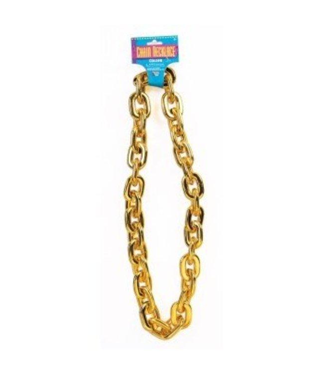 Forum Novelties Jumbo Chain Necklace, Gold by Forum Novelties