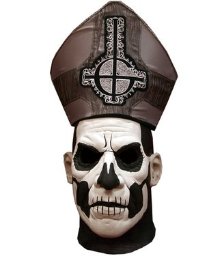 Trick Or Treat Studios Ghost! - Papa II Emeritus Deluxe Edition Mask and Hat by Trick Or Treat Studios