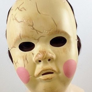 Disguise Creepy Baby Doll Mask