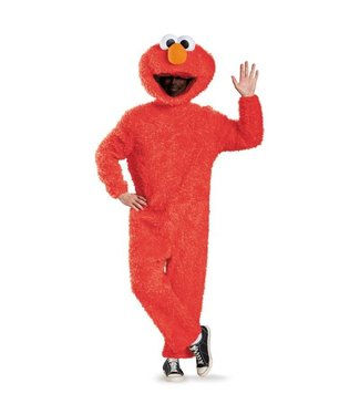 Disguise Full Plush Elmo - Prestige Adult 42-46