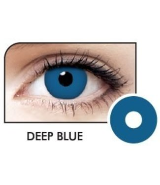 Fine And Clear Deep Blue Contact Lenses (C2)