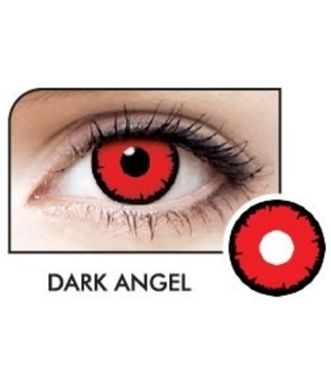 Fine And Clear Dark Angel Contact Lenses