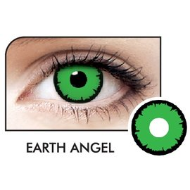 Fine And Clear Earth Angel Contact Lenses