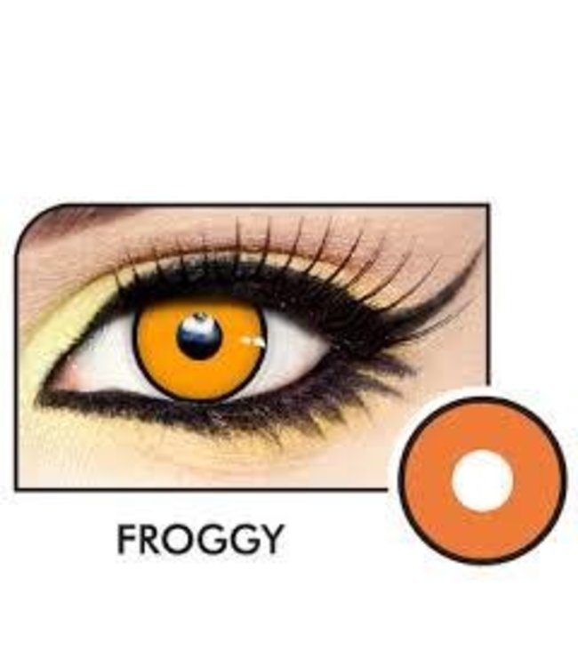 Fine And Clear Froggy Contact Lenses (C2)