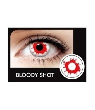 Fine And Clear Blood Shot Contact Lenses