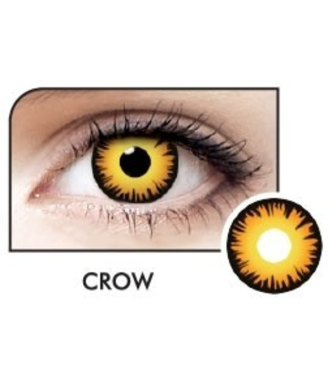 Fine And Clear Crow Contact Lenses (C2)