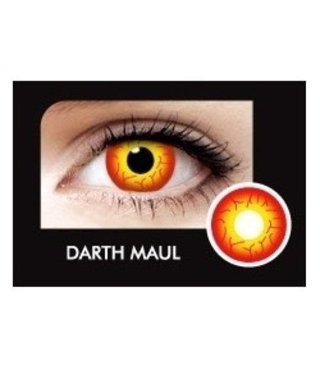 Fine And Clear Death Maul Contact Lenses (C2)