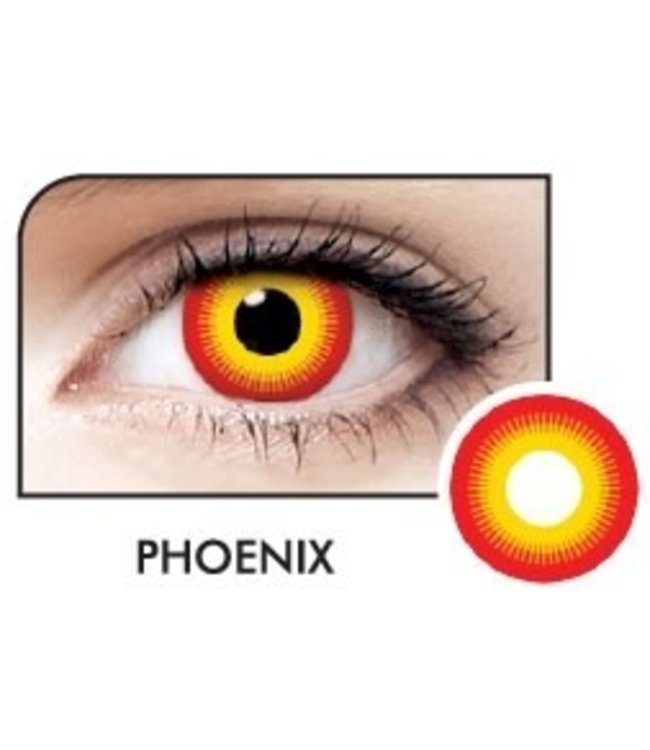 Fine And Clear Phoneix Contact Lenses (C2)