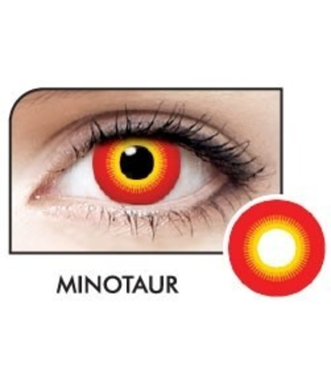 Fine And Clear Minotaur Contact Lenses (C2)