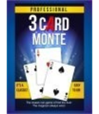 Professional 3 Card Monte by Trickmaster Magic (M10)