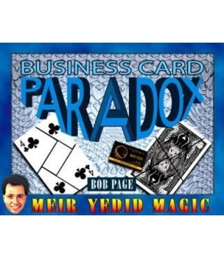 Business Card Paradox by Bob Page and Meir Yedid Magic(M10)