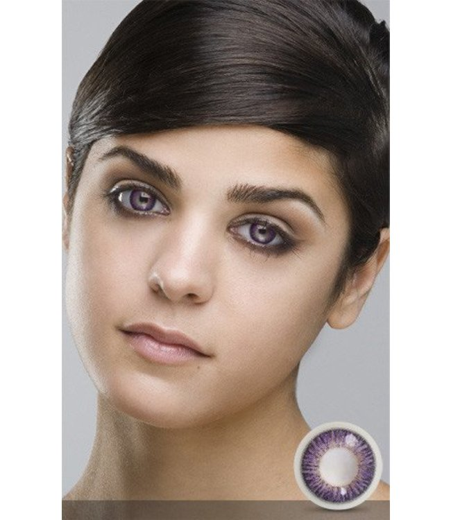 Fine And Clear Sweet Violet Contact Lenses (C2)
