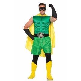 Forum Novelties Hero Gloves, Black