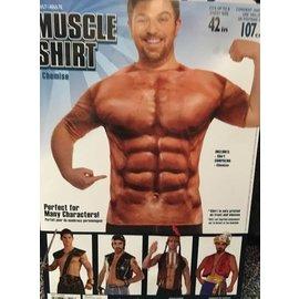 Forum Novelties Muscle Shirt, Male - 42
