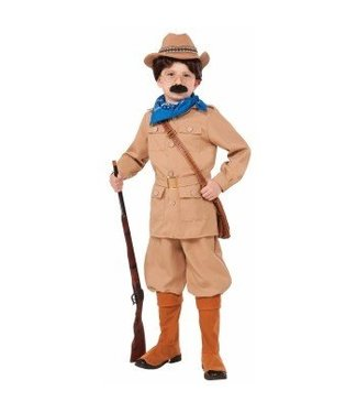 Forum Novelties Theodore Roosevelt - Child Medium 8-10
