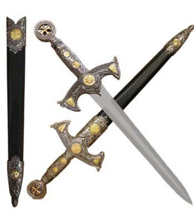 Knights Templar Dagger and Scabbard (M1)