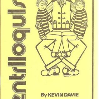 Book Ventriloquism by Kevin Davie and Magic Inc
