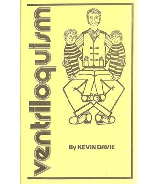 Book- Ventroiloquism by Kevin Davie (M7)