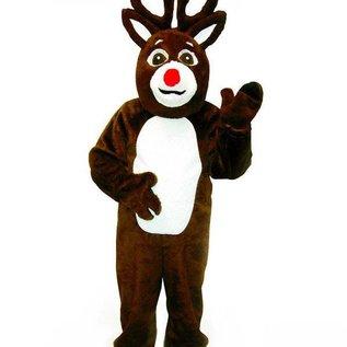 Halco Reindeer Suit with Mascot Head 1294H