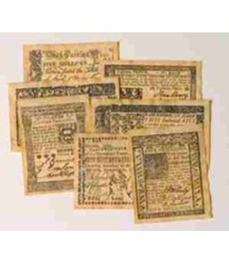 Paper Money of Colonial America by Cooperman Company
