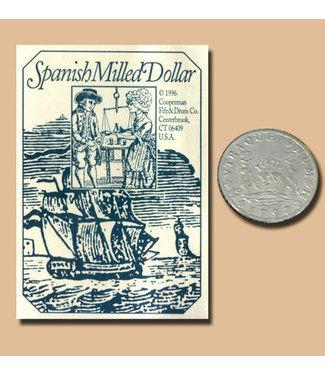 Replica Coin Spanish Milled Dollar - Silver