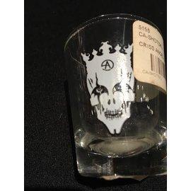 CRISS ANGEL SHOT GLASS SKULL by API Angel Productions Inc.