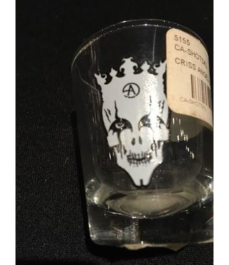 CRISS ANGEL SHOT GLASS SKULL by API Angel Productions Inc.
