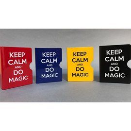 Card Guard, Red Keep Calm and Do Magic by Bazar de Magia