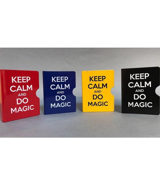 Card Guard, Red Keep Calm and Do Magic by Bazar de Magia