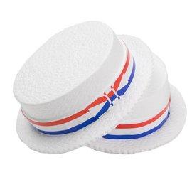 Styrofoam Skimmer Hat