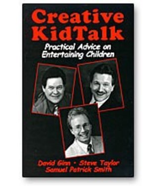 Book - Creative Kid Talk by David Ginn-  By Steve Taylor and Samuel Patrick Smith (M7)